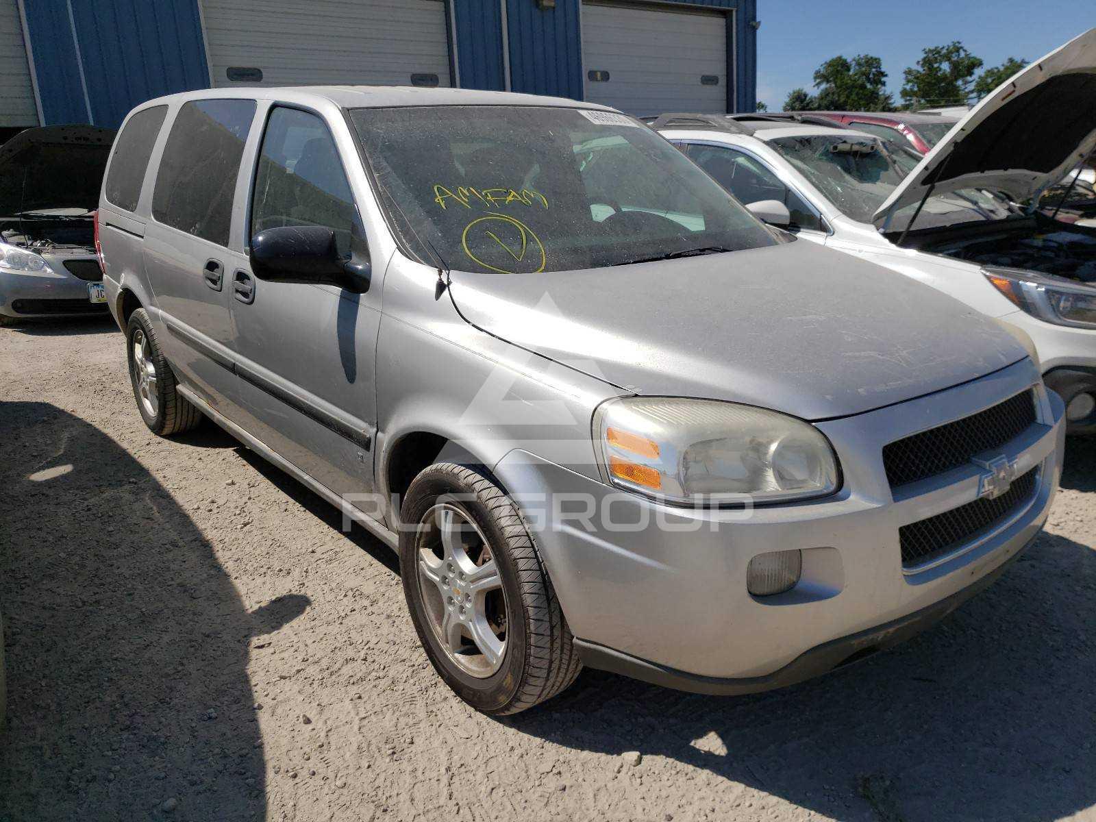 ᐉ Used Chevrolet Uplander 2008 Vin 1gndv23158d207630 For Sale Auction Online Plc Group